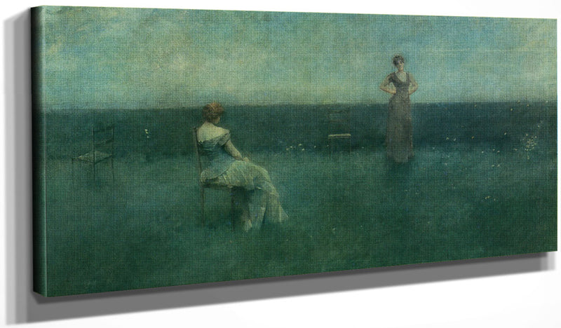 The Recitation 1891 By Thomas Wilmer Dewing