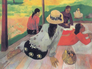 The Rest By Paul Gauguin