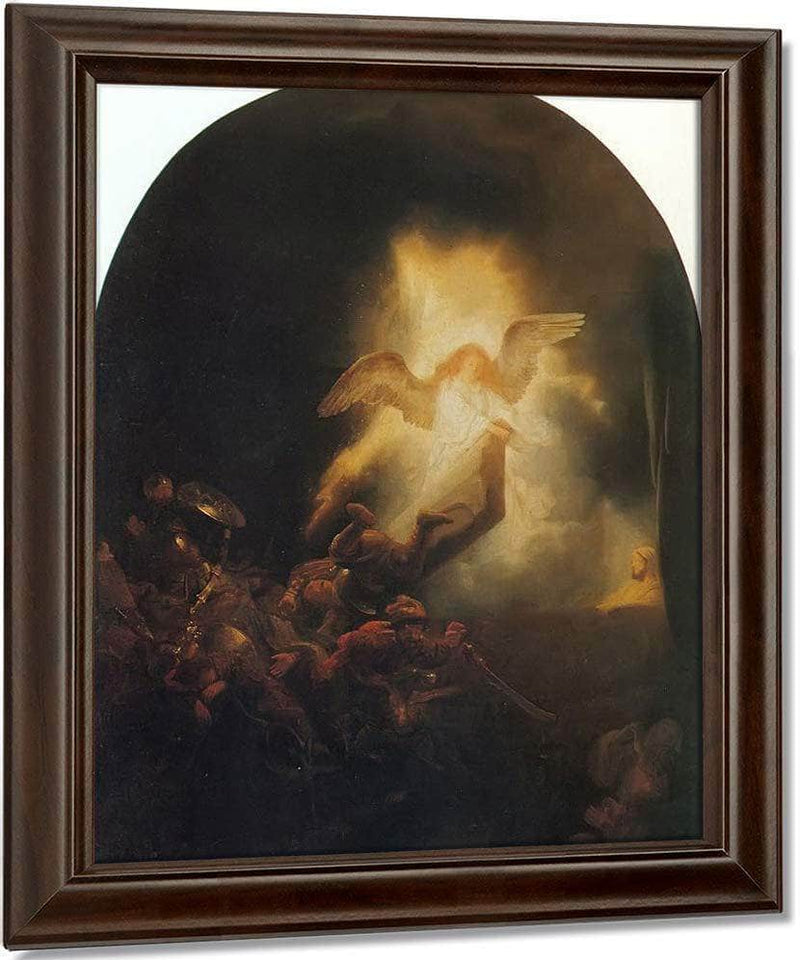 The Resurrection Of Christ By Rembrandt