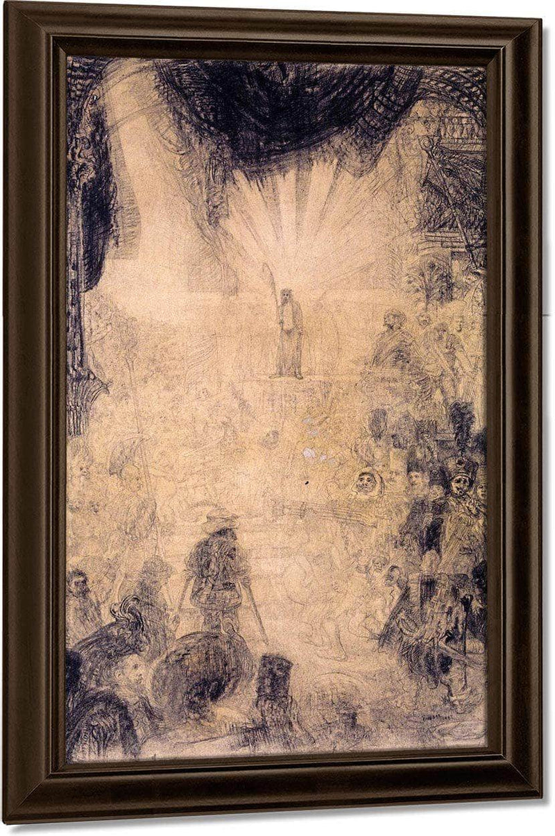 The Rising Christ Shown To The People By James Ensor