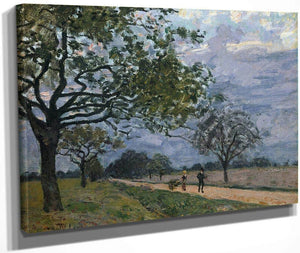 The Road From Versailles To Louveciennes 1879 1 By Alfred Sisley