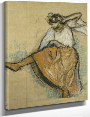 The Russian Dancer By Edgar Degas