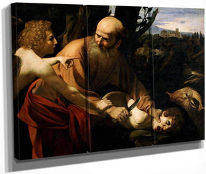 The Sacrifice Of Isaac 1602 By Caravaggio