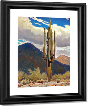 The Saguaro By Maynard Dixon