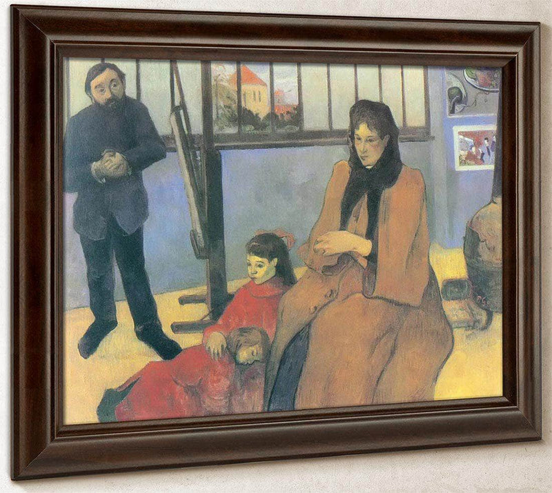 The Schuffenecker Family By Paul Gauguin
