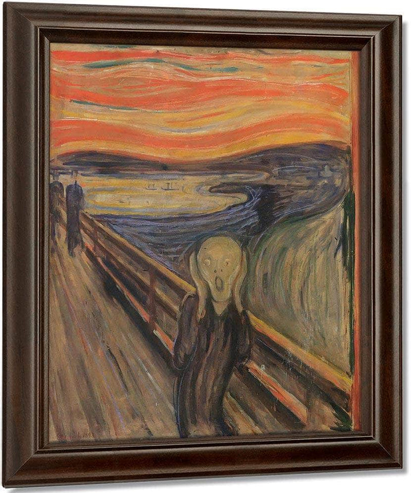 The Scream 1893 By Edvard Munch