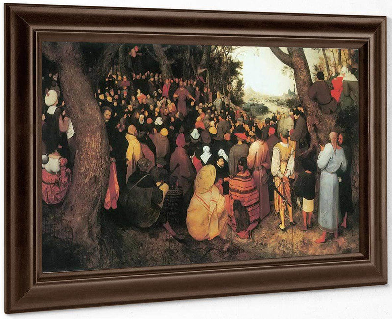 The Sermon Of St By Pieter Bruegel