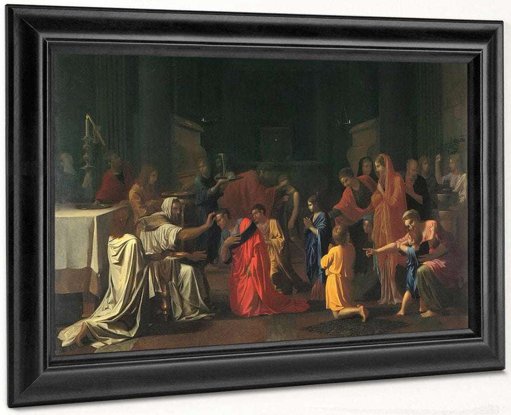The Sev En Sacraments Ii Confirmation By Nicholas Poussin