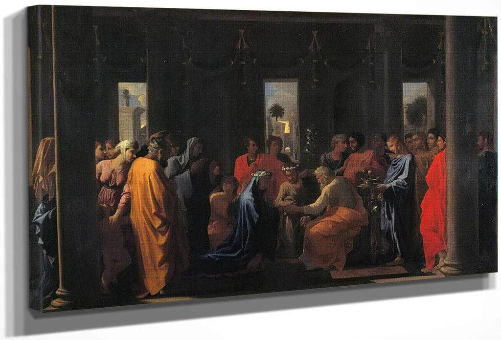 The Seven Sacraments Ii Marriage By Nicholas Poussin