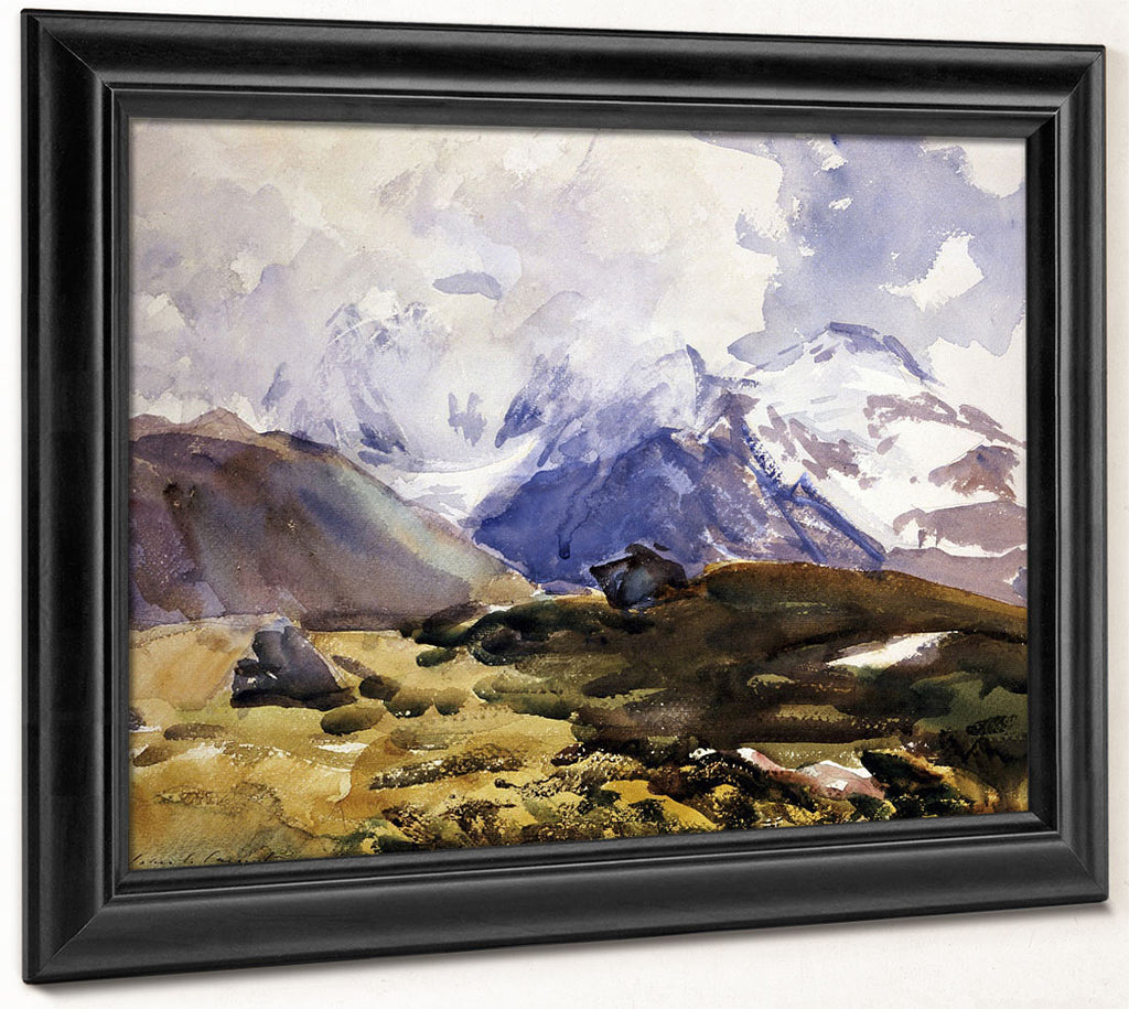 The Simplon By John Singer Sargent