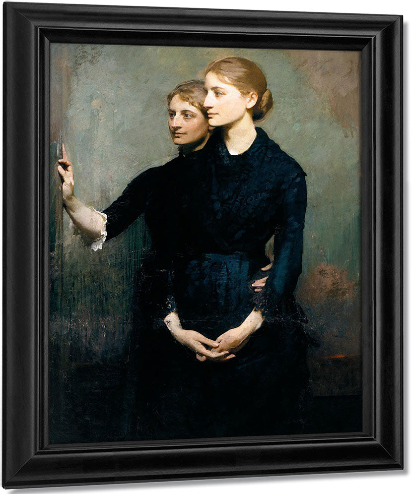 The Sisters By Thayer, Abbott Handerson