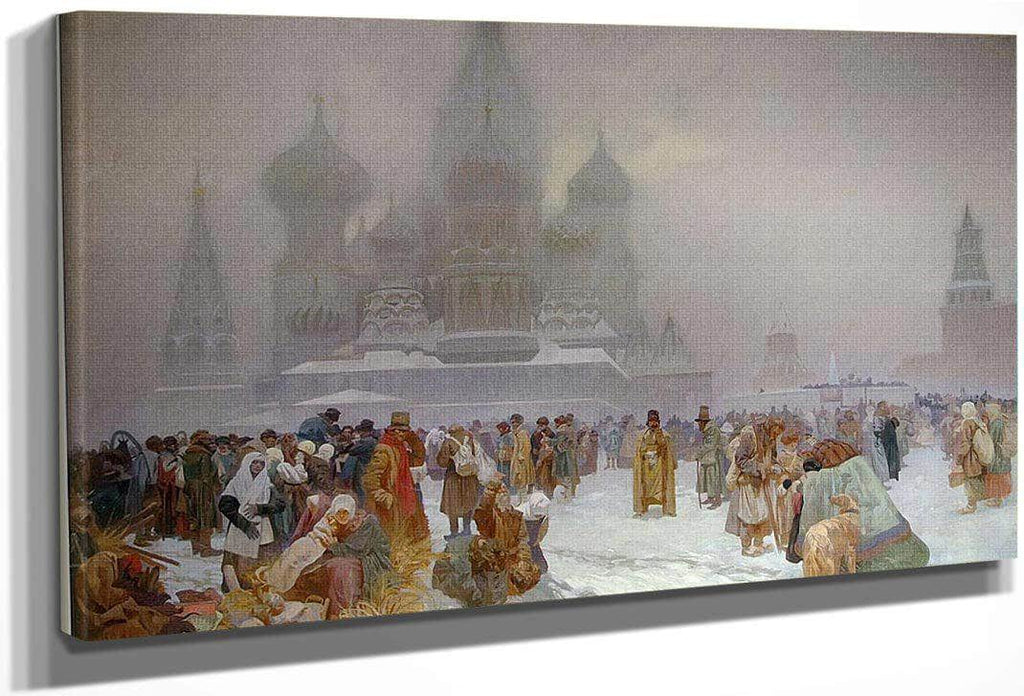 The Slav Epic Abolition Of Serfdom In Russia By Alphonse Mucha