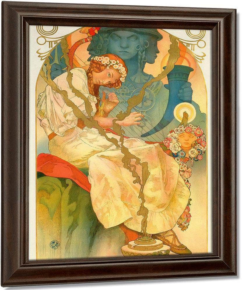 The Slav Epic By Alphonse Mucha