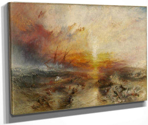 The Slave Ship 1840 By Joseph Mallord William Turner