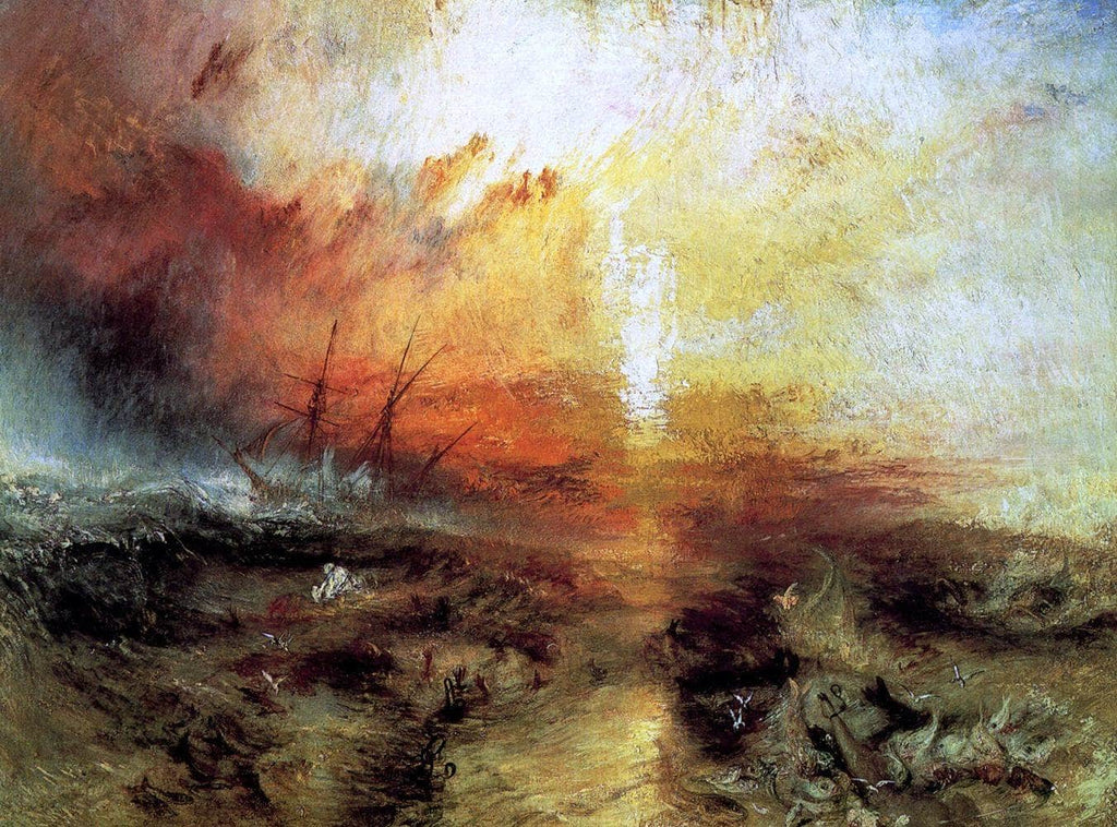 The Slave Ship Painting Joseph Mallord William Turner Canvas Art
