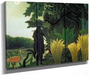 The Snake Charmer 1907 By Henri Rousseau