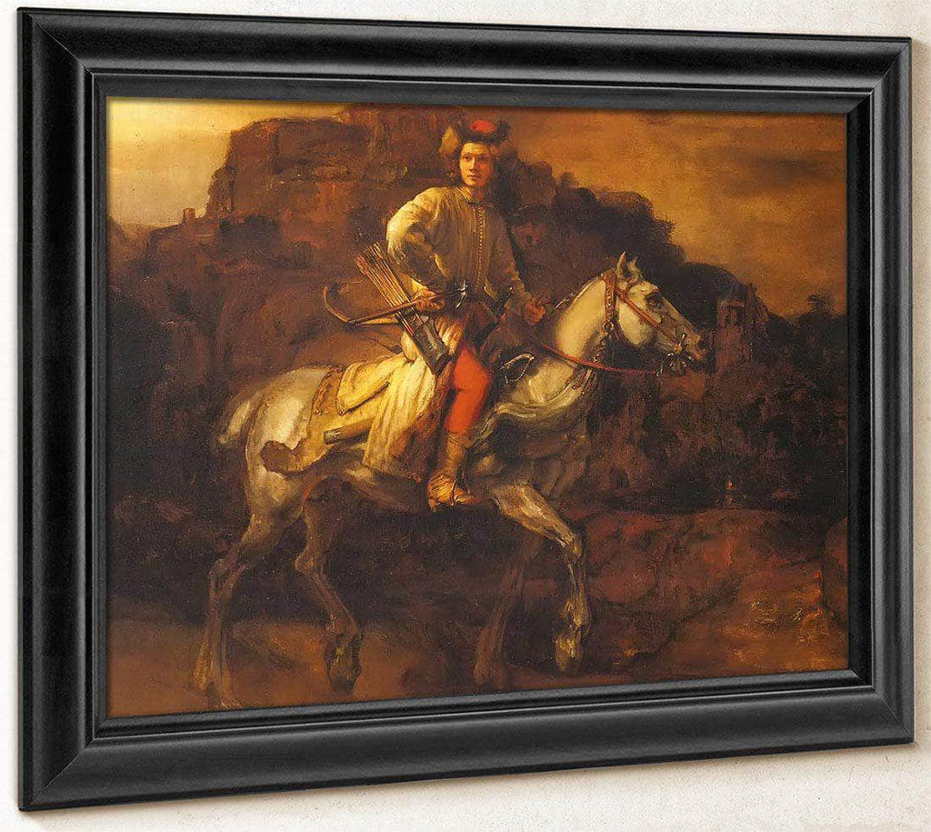 The So Called Polish Rider By Rembrandt
