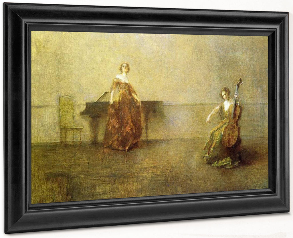 The Song And The Cello By Thomas Wilmer Dewing
