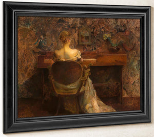 The Spinet By Thomas Wilmer Dewing
