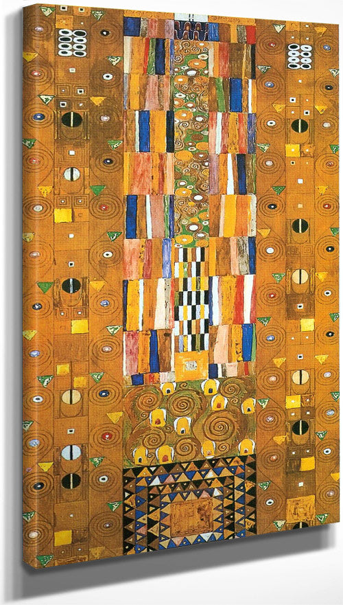 The Stoclet Frieze ( Detail) By Gustav Klimt