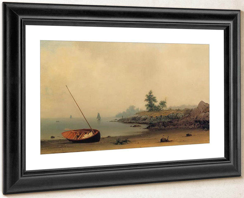 The Stranded Boat 1863 By Martin Johnson Heade