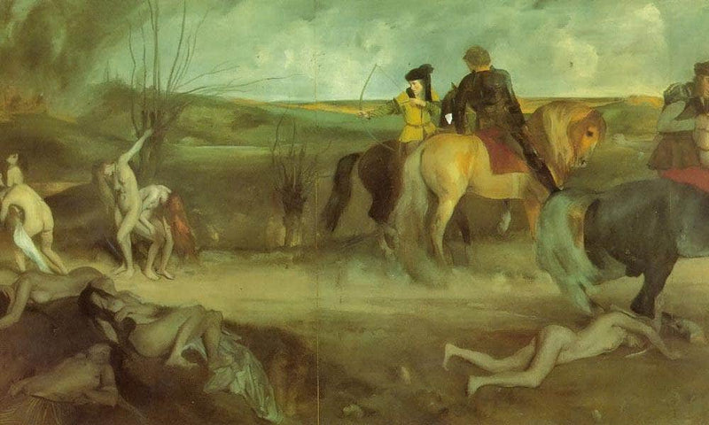 The Sufferings By Of By The By City By Of By New By Orleans By Edgar Degas