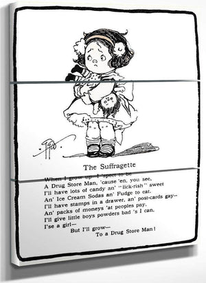 The Suffragette By Grace G Drayton