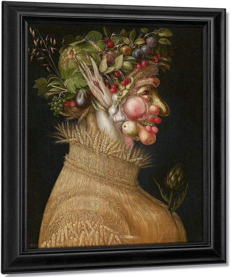 The Summer   From The Four Seasons 1563 67X50 8Cm Kunsthistorisches Museum Gg 1589 By Giuseppe Arcimboldo