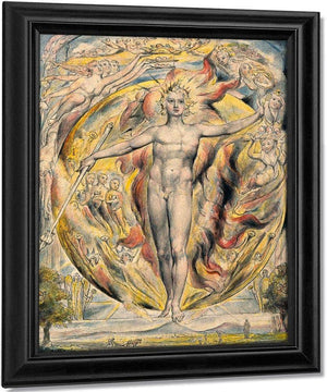 The Sun At His Eastern Gate 1816 1820 By William Blake