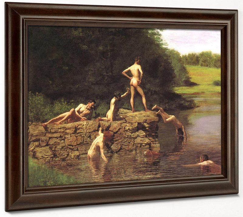 The Swimming Hole 1885 By Thomas Eakins
