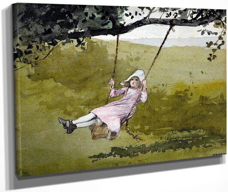 The Swing By Winslow Homer