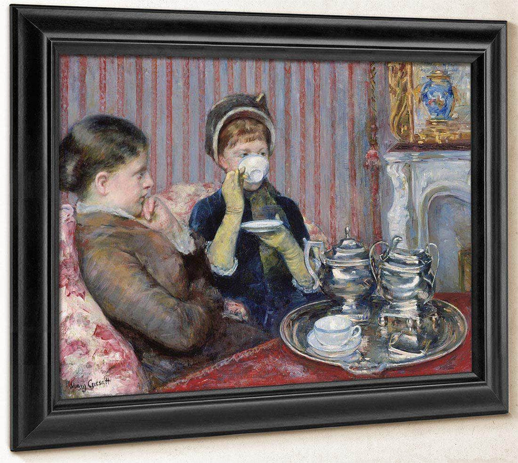 The Tea By Cassatt Mary