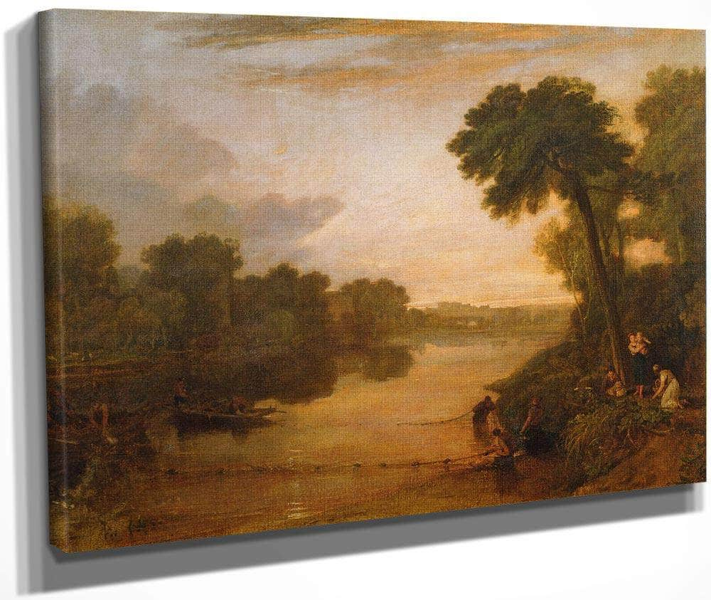 The Thames Near Windsor By Joseph Mallord William Turner
