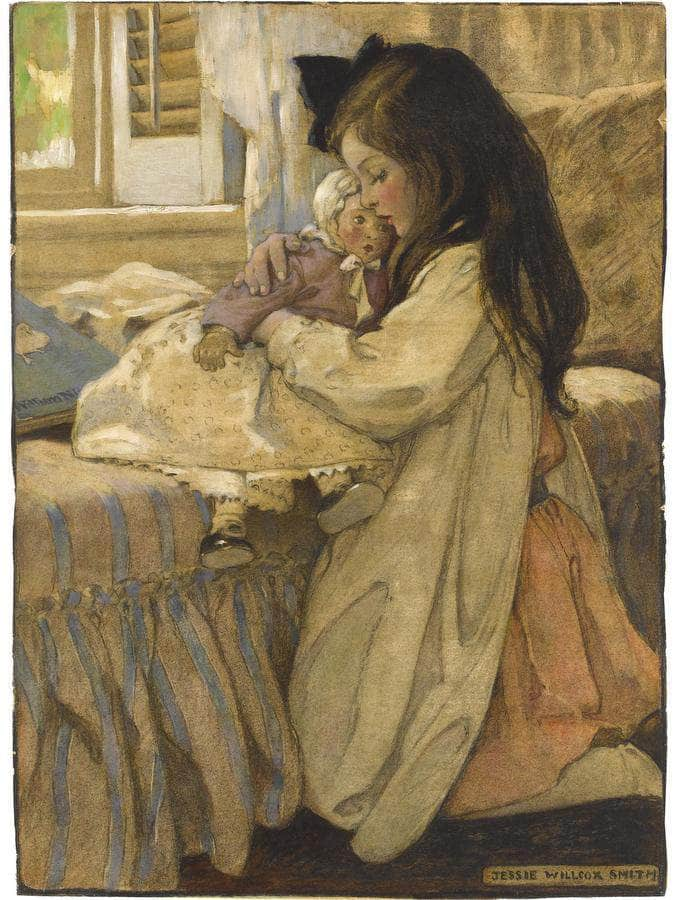 The Then Lover By Jessie Willcox Smith