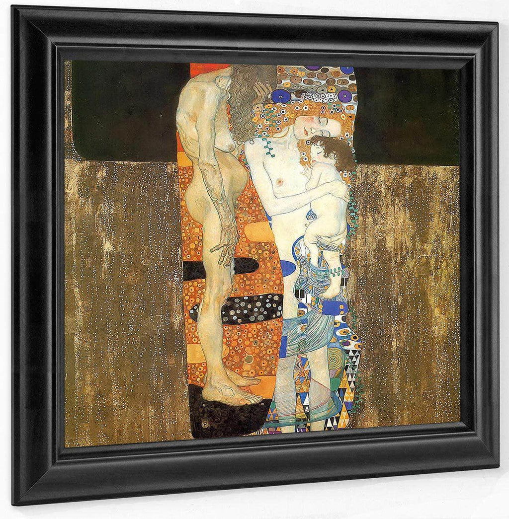 The Three Ages Of Women By Gustav Klimt