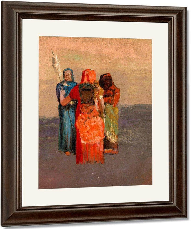 The Three Fates By  Redon, Odilon