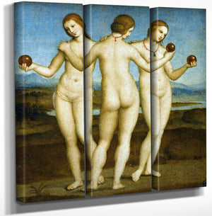 The Three Graces By Raphael