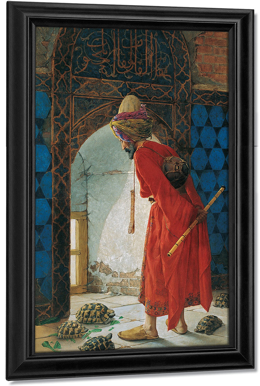 The Tortoise Trainer 1906 By Osman Hamdi Bey