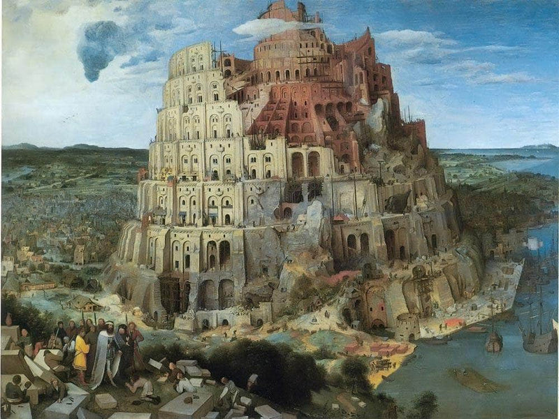 The Tower Of Babel 1563 By Pieter Bruegel