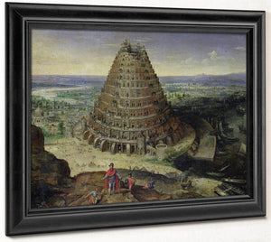 The Tower Of Babel By Lucas Van Valckenborch
