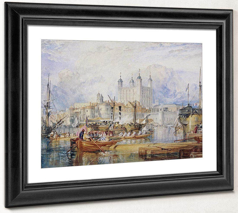 The Tower Of London By Joseph Mallord William Turner
