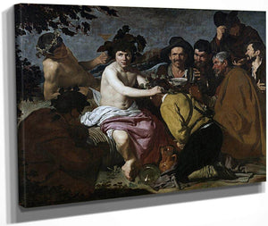 The Triumph Of Bacchus (Los Borrachos The Topers) By Diego Velazquez