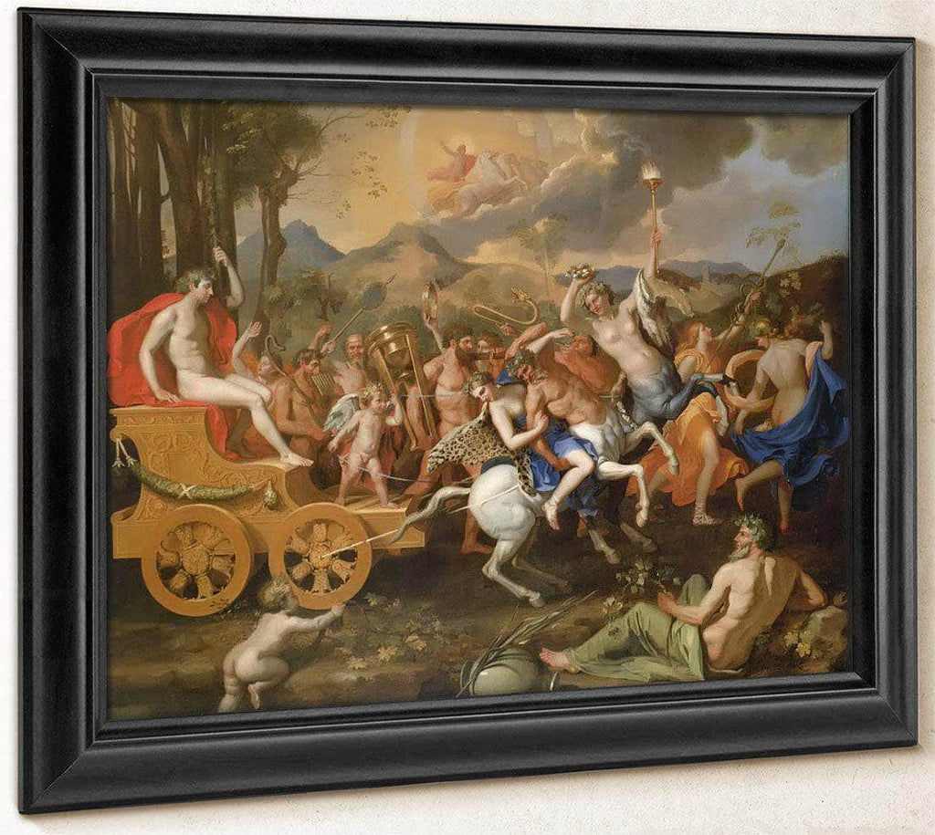 The Triumph Of Bacchus By Nicholas Poussin