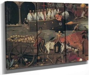 The Triumph Of Death 2 C By Pieter Bruegel