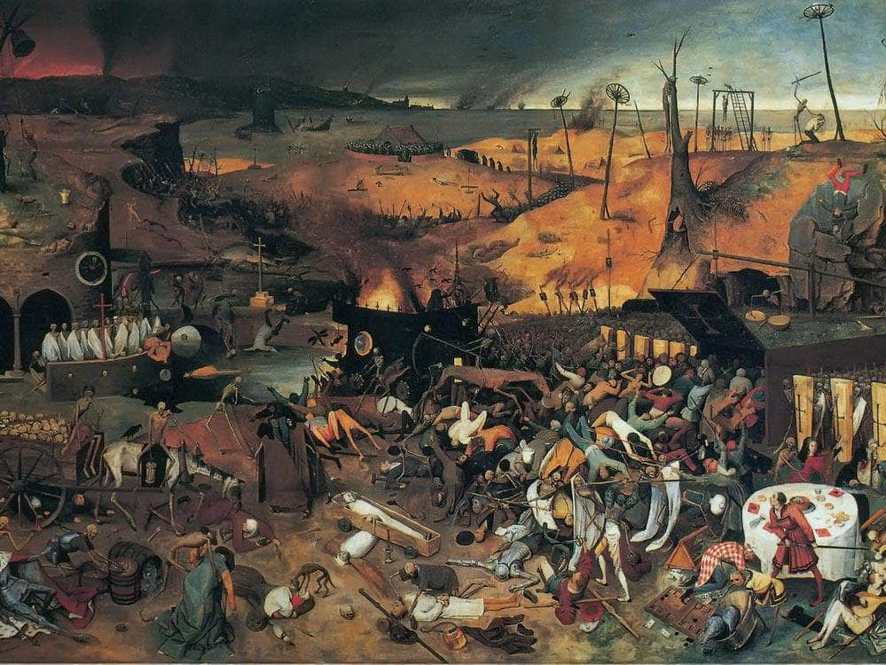 The Triumph Of Death 3 C By Pieter Bruegel