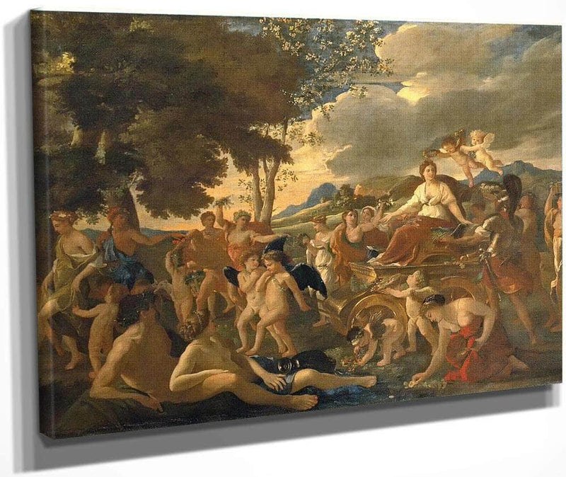 The Triumph Of Flora By Nicholas Poussin