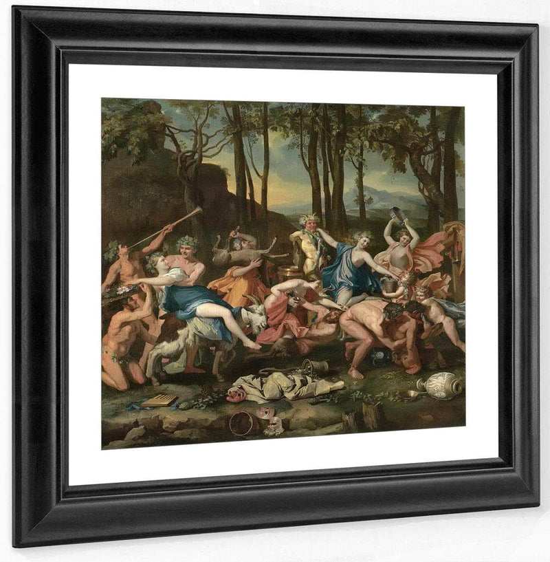 The Triumph Of Pan By Nicholas Poussin