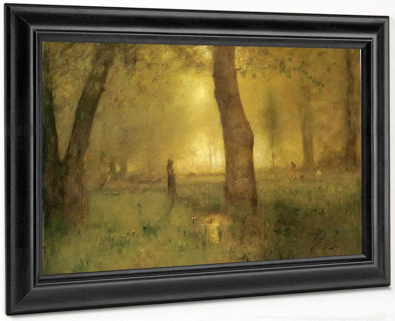 The Trout Brook By George Inness