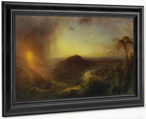 The Vale Of St Thomas Jamaica By Fredric Edwin Church
