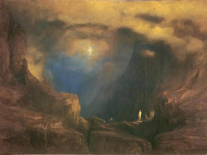 The Valley Of The Shadow Of Death By George Inness